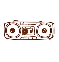 Hand drawn stereo vector