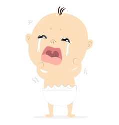 Baby crying2 vector