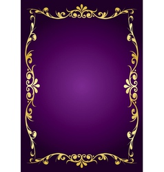 purple luxury background vector image