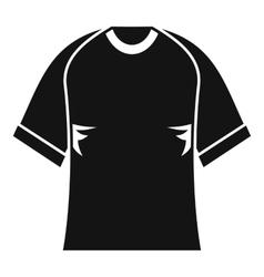 Raglan tshirt icon simple style vector