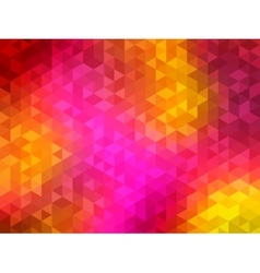Polygonal background for webdesign - yellow vector