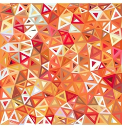 Mottled abstract triangles background vector