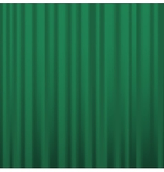 Fabric curtains vector