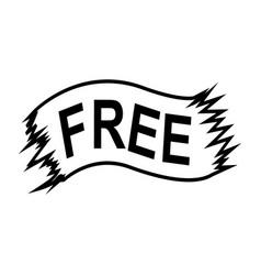 Free ribbon vector
