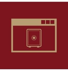 Online banking icon design online banking vector