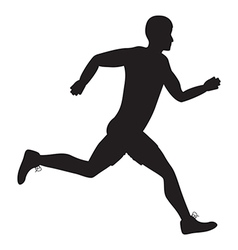 side runner vector image vector image