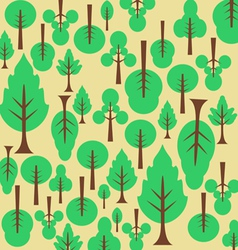 Background pattern tree for the fabric vector