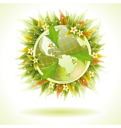 Environmentally friendly earth vector