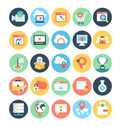 Business and seo icons 5 vector