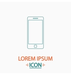 Mobile gadget computer symbol vector