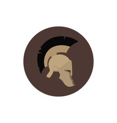 Icon helmet vector