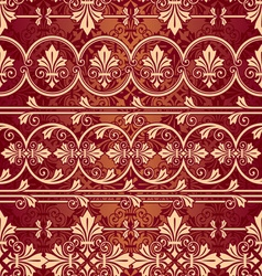 seamless classik pattern vector image vector image
