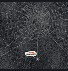 spider web background vector image vector image