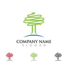 tree icon logo vector image