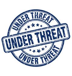 Under threat vector
