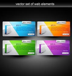 web element vector image