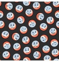 Balls pattern vector image