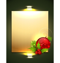 christmas background design vector image