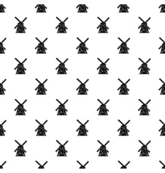 Mill pattern simple style vector image vector image