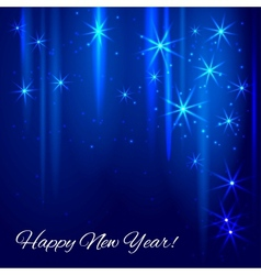 New year abstract background vector image