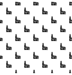 Houses pattern simple style vector