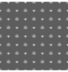 Seamless vintage royal pattern vector