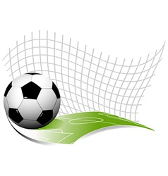 Abstract football background vector image vector image
