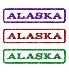 Alaska watermark stamp vector