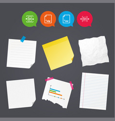 Archive file compressed zipped document vector