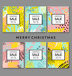 christmas abstract backgrounds sale vector image