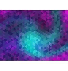 Polygonal Background for webdesign - Pink vector image vector image