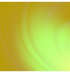 Abstract Green Orange Wave Background vector image
