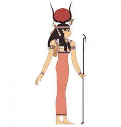 ancient Egypt god vector image vector image