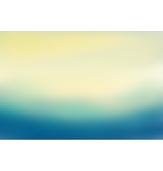 Blue and beige blurred background vector image