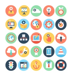 Business and seo icons 6 vector