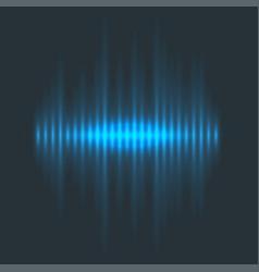 Digital music equalizer audio waves design vector