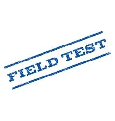 Field test watermark stamp vector