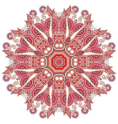 geometric doily pattern vector image vector image