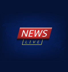 Live news vector