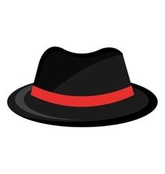 vintage man hat graphic vector image