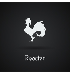 Rooster cock chicken vector