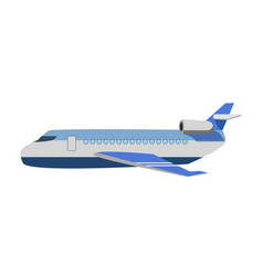 Big passenger jet vector