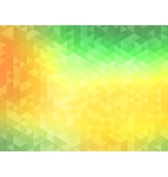 Polygonal Background for webdesign - Green Yellow vector image vector image