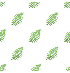 Prehistoric plant icon in cartoon style isolated vector