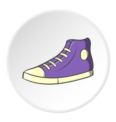 Sneakers icon cartoon style vector image vector image