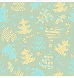 Winter texture vector image