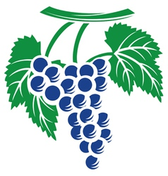 Grapes symbol vector