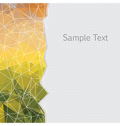 Abstract geometric patterns vector