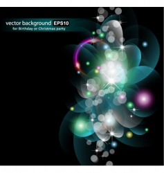 abstract space vector image vector image