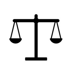 Contour balance kilogram instrument object design vector